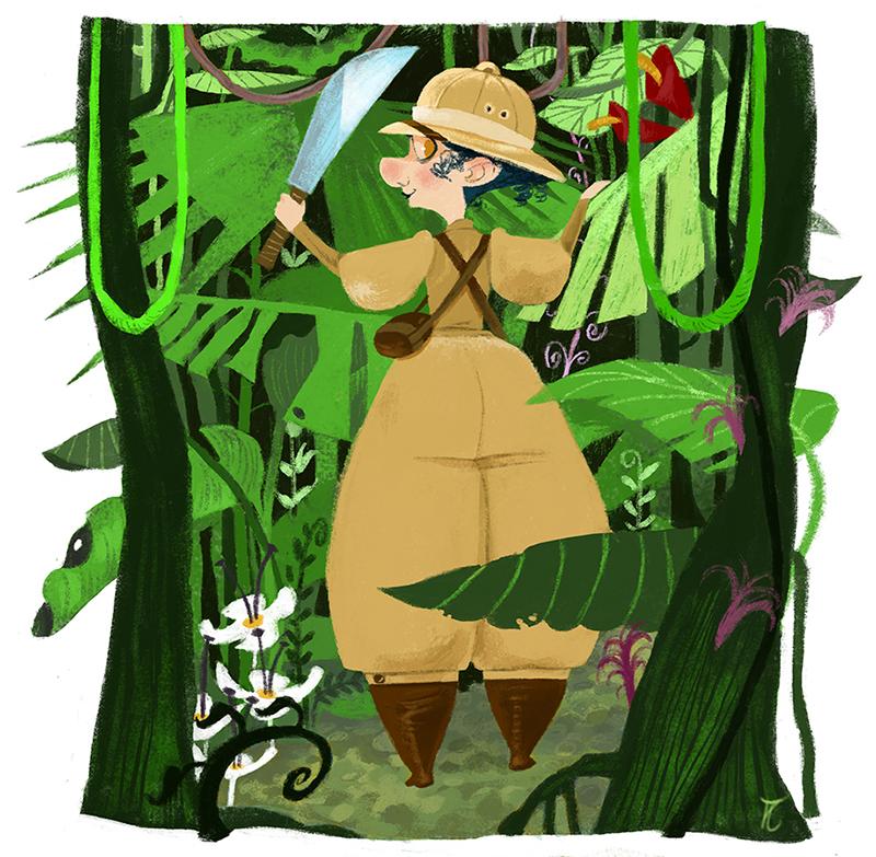 Nellie in the jungle-Aina Albi