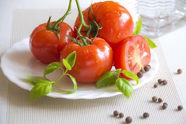 タコとトマトのサラダのレシピ