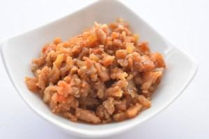 ウル得フレーク・鶏ひき肉のそぼろのレシピ