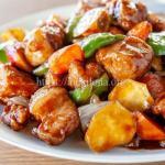 小倉優子の酢鶏のレシピ