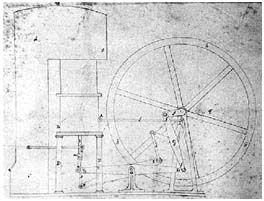 Imagen de primera patente motor stirling