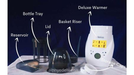 Parts Dr. Brown's Deluxe Warmer and Sterilizer