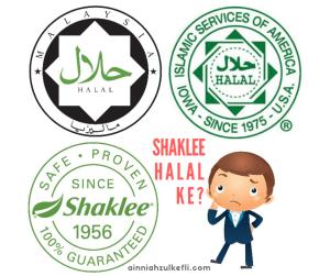 sijil halal shaklee