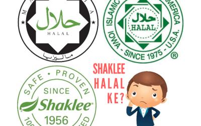 Sijil Halal Shaklee 2021