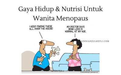 Cadangan Vitamin Untuk Wanita Menopause
