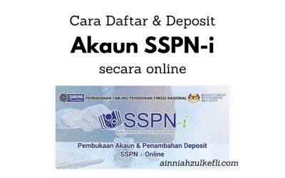 Cara Buka Akaun SSPN i Secara Online