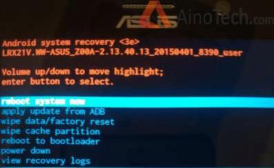 ZenFone 2 recovery