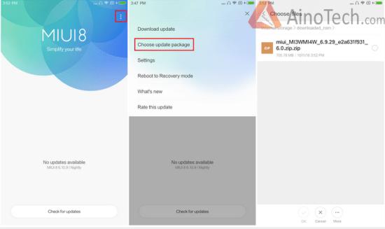 xiaomi update firmware