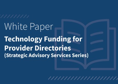 Technology Funding for Provider Directories