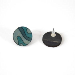 Kõrvarõngad – maastik | Irina Tammis Design