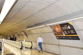 6º Festival de Cine Invisible. Exposición en Metro Bilbao. Estación Casco Viejo