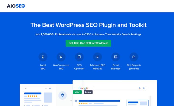 The best WordPress SEO plugin, All in One SEO