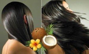 healthy, long, silky hair