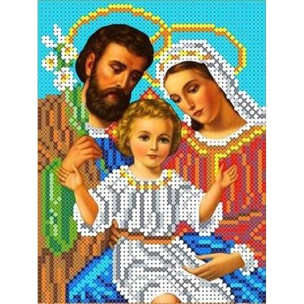 ТКБИ 5055 Святое семейство Канва с рисунком для вышивки ...