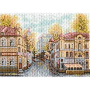 Московские улочки. Замоскворечье Ткань с рисунком Матренин ...