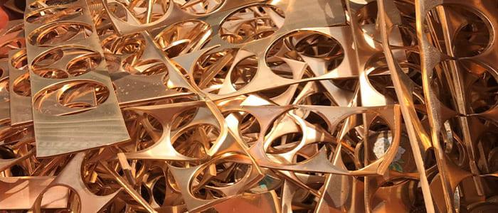 丹銅の取扱をしています、滋賀県非鉄金属買取の神田重量金属株式会社