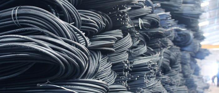 番線スクラップの取扱、金属買取の神田重量金属株式会社