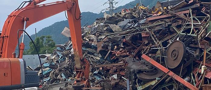 鉄スクラップとは?鉄屑の取扱について、滋賀県金属買取の神田重量金属株式会社