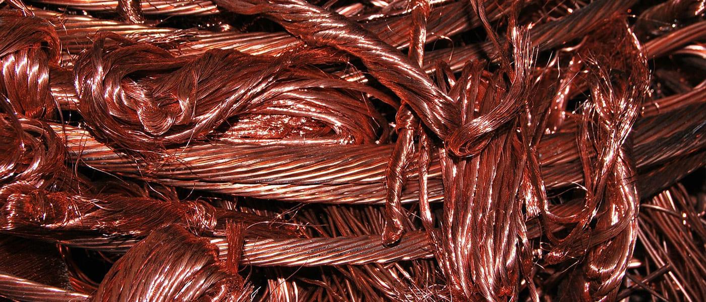 銅屑、ピカ一号銅線、ピカ銅スクラップ画像、滋賀県非鉄金属買取の神田重量金属株式会社