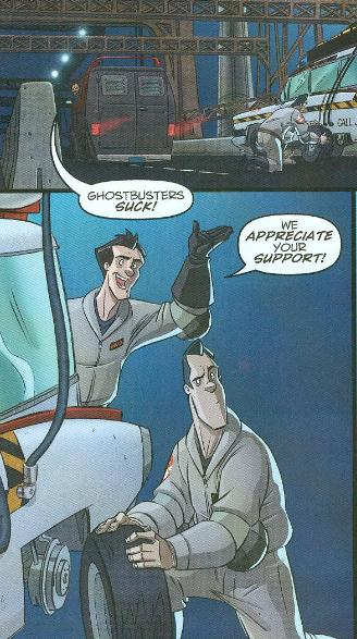 Ghostbusters (IDW) #3 Review