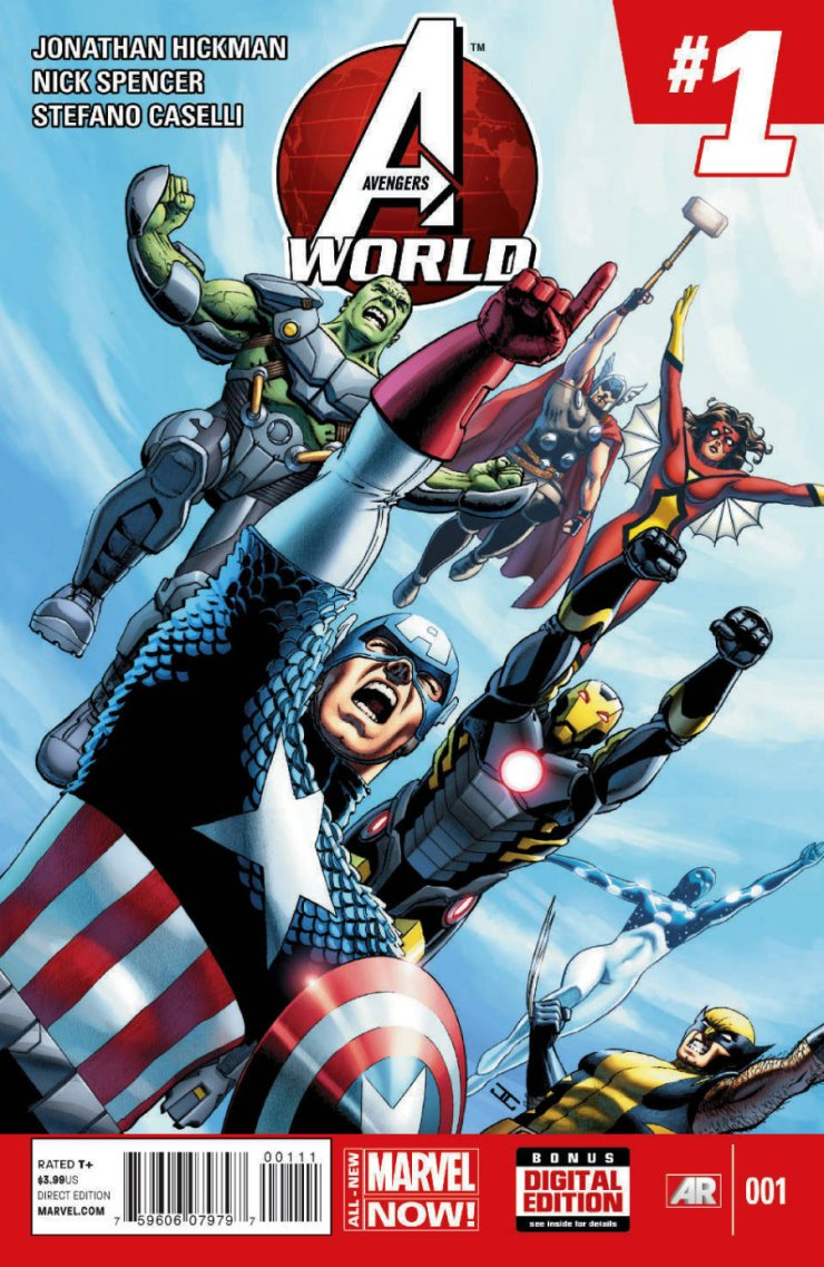 """Time for some more new series from All New Marvel! This time, we got ourselves Avengers World, another series for Jonathan Hickman to tell his Avengers story (apprently two are not enough). Also riding shotgun with the guy is Nick Spencer, who co-wrote the prelude to Infinity that everyone who reads my reviews knows I simply """"adore."""" What is in store for us now? Is it good?"""