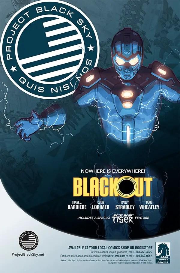 BLACKOUT #1 | Frank Barbiere | Randy Stradley | Colin Lorimer | Doug Wheatley