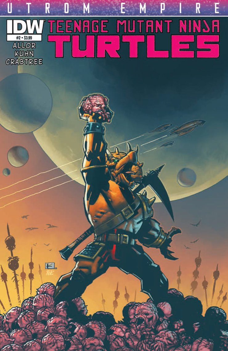 Is It Good? Teenage Mutant Ninja Turtles: Utrom Empire #2 Review