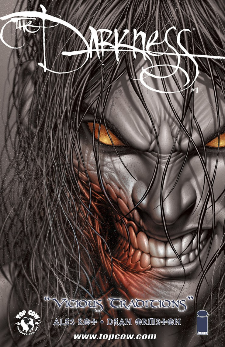 Fan favorite author Ales Kot is debuting a new set of one-shots to be released sporadically under the title The Darkness. Up first is Vicious Traditions #1, a gritty tale of a doomed Roman legion. Is it good?