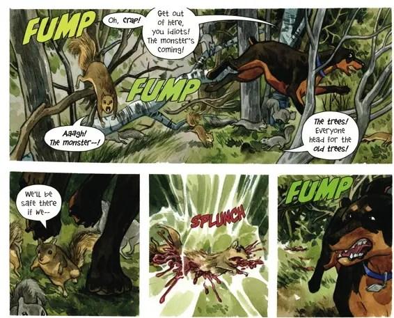 Panels in Poor Taste: 3/21/2014 – Shark Dropkicks and Squishy Squirrels