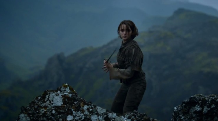 """""""I ended on the perfect scene,"""" Arya Stark actress Maisie Williams says of her final moments in Game of Thrones"""