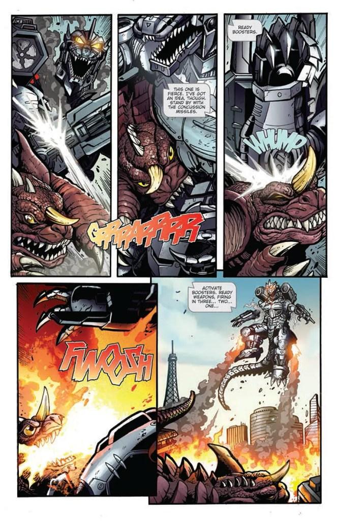 godzilla-rulers-of-earth-11-baragon-vs-mecha-godzilla-2