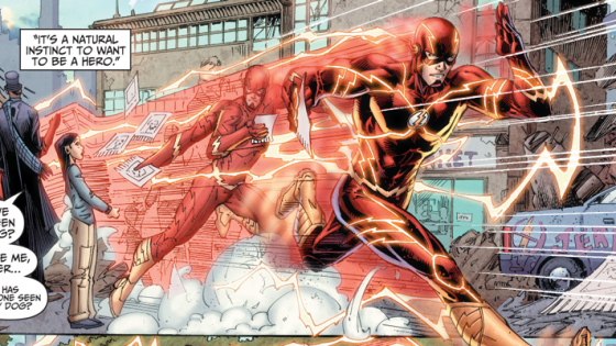 "It's a brand new beginning for The Flash.  We've got ourselves a new creative team with Robert Venditti and Van Jensen writing and Brett Booth drawing.  This could be either really good or very ""meh"" judging from previous works they have done.  Either way, is it good?"