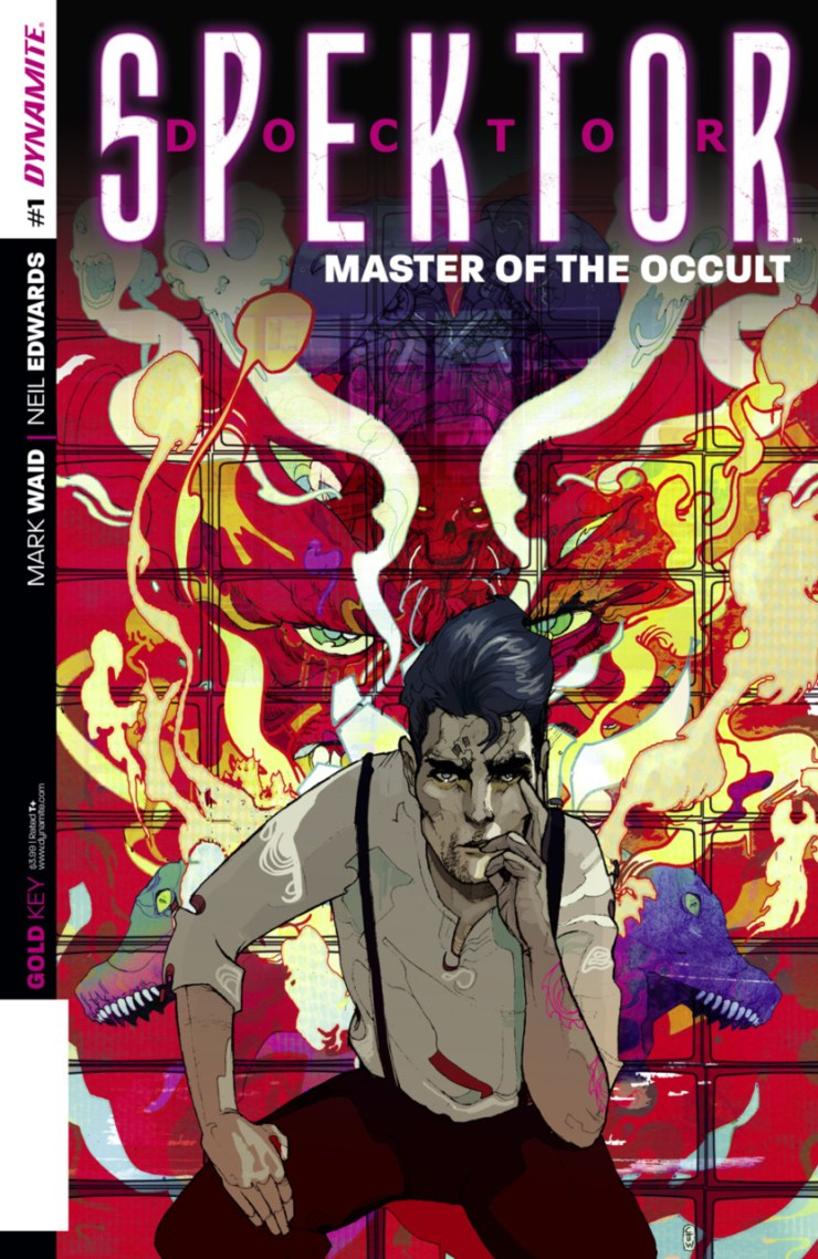 Hot on the heels of the relaunches of Turok: Dinosaur Hunter, Magnus: Robot Fighter and Solar: Man of the Atom, Doctor Spektor: Master of the Occult #1 rounds out Dynamite Entertainment's attempt to revitalize the Gold Key Universe. It's illustrated by Neil Edwards and colored by Jordan Boyd, but pretty much the only reason I needed to pick this up was that it's written by Mark Waid (Daredevil). Is it good?