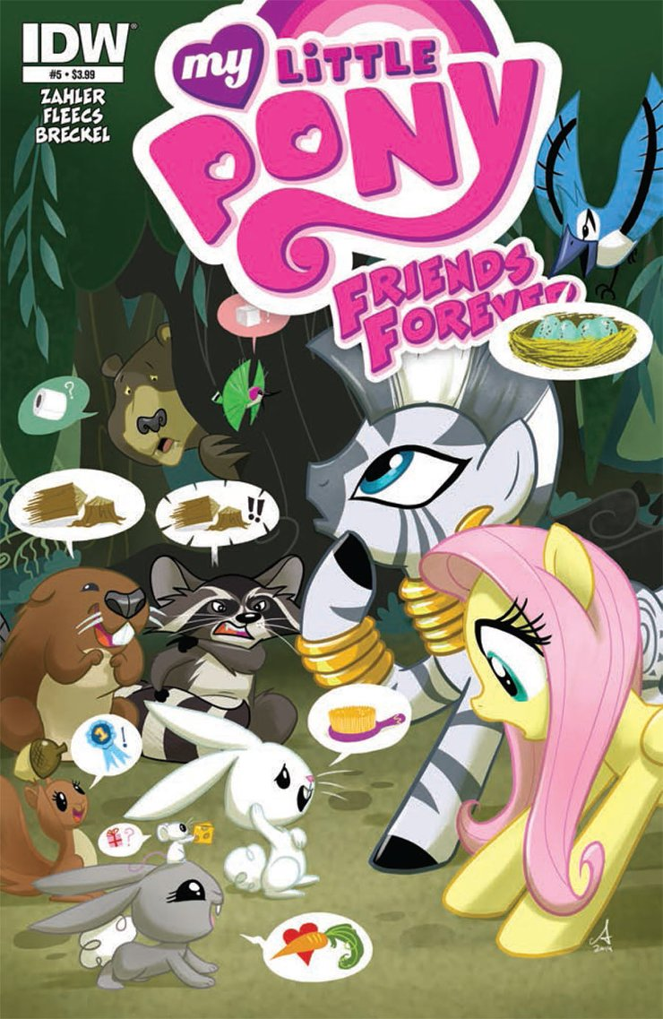 Is It Good? My Little Pony: Friends Forever #5 Review