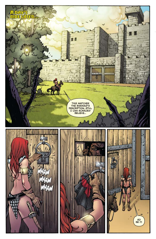 Is It Good? Red Sonja: Sanctuary #1 Review