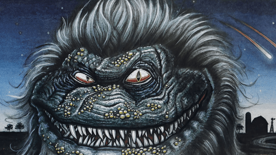 """1984's Gremlins can be blamed for a trend in horror movies that ran rampant throughout the late 80's and early 90's.  I am, of course, speaking of the """"little killer monsters"""" subgenre. You have your Munchies, your Ghoulies, your Hobgoblins and to a lesser extent the Troll franchise, but the most highly revered of all the Gremlins knock-offs will forever be the Critters series. Probably the best thing to come from New Line Cinema since their Nightmare on Elm Street franchise, Critters is good fun no matter how many times I watch it."""