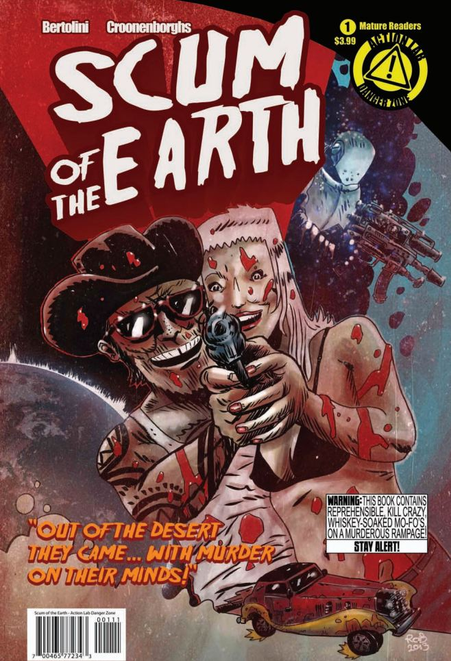 Is It Good? Scum of the Earth #1 Review