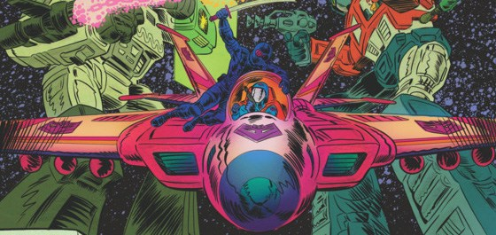 Two huge franchises based on Hasbro toys clash in Transformers VS G.I Joe #1, officially (after the Free Comic Book Day zero issue) kicking off the new ongoing series by writer/artist/colorist/letterer Tom Scioli with co-writer John Barber. Is it good?