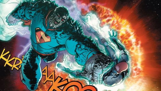 Sometimes comics can be so silly, but when you dig a little deeper they're way cool because the concept is much more complex than you first imagined. Case in point, Superman has a Doomsday virus that has made him look and act like Doomsday. Kind of stupid sounding admittedly, but is it good?