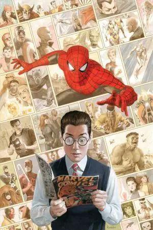 paolo-rivera-spider-man-anniversary-special-cover