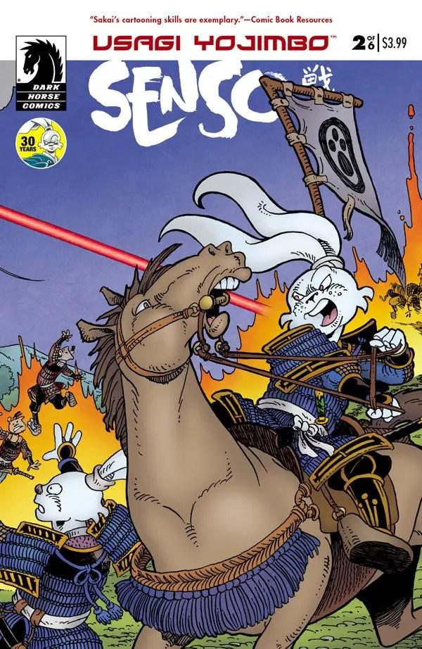 Is It Good? Usagi Yojimbo: Senso #2 Review