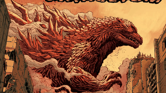 IDW is giving us a new Godzilla miniseries by Cullen Bunn and Dave Wachter. Is it good?