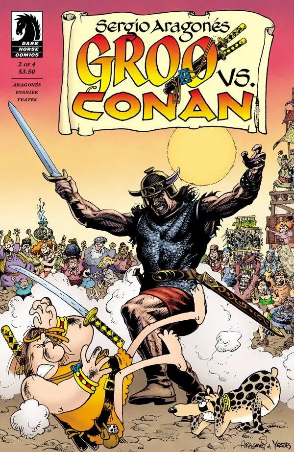 Is It Good? Groo vs. Conan #2 Review
