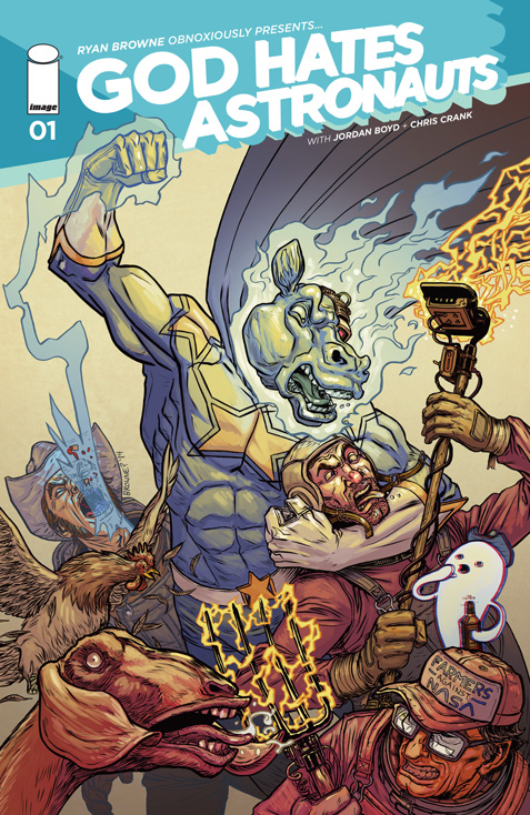 Is It Good? God Hates Astronauts #1 Review