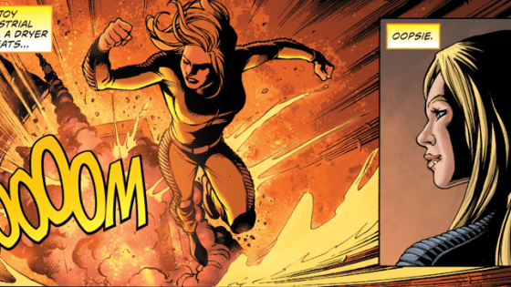 Power Girl has to break into Cadmus Island to free Huntress. Easier said than done, right? Is it good?