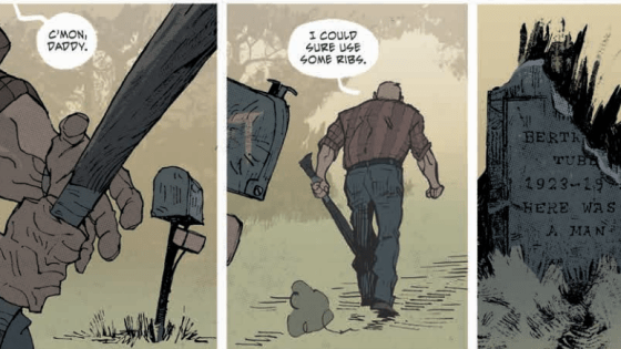 The shit hits the fan in the conclusion to the first story arc of Southern Bastards.  It's been a nonstop, brutal and nasty ride with these characters in the deep South.  How will it all come crumbing down?  Is it good?