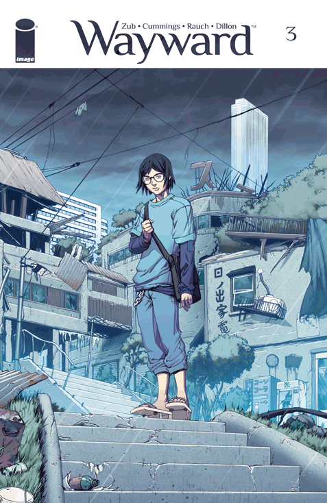 Despite its problems, I was still pretty much into the second issue of Wayward. I see potential in this series for it to soar and truly shine. There are issues to be sure, but I'm still quite into the book despite them. Hopefully, the third issue can really start pushing it. Is it good?