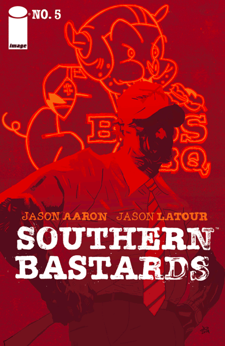 Southern Bastards #5. Gridiron part 1. Reckon it's about to get mighty dark. Is it good?