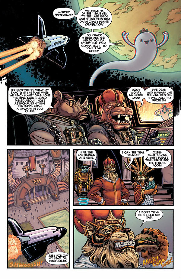 Is It Good? God Hates Astronauts #3 Review
