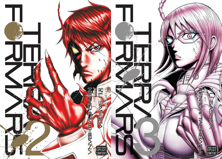 Terra Formars Vol. 2 & 3 Review